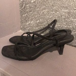 Zara Basics Collection Strappy Sq toe sandal 40